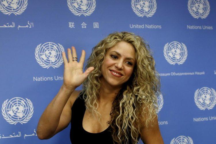 Singer Shakira
