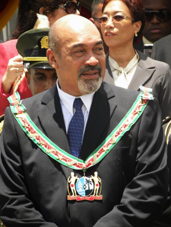 President of Suriname since August 12, 2010, Dési Bouterse
