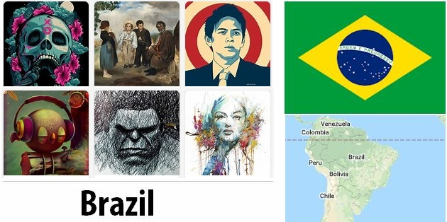 Brazil Arts and Literature