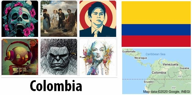 Colombia Arts and Literature
