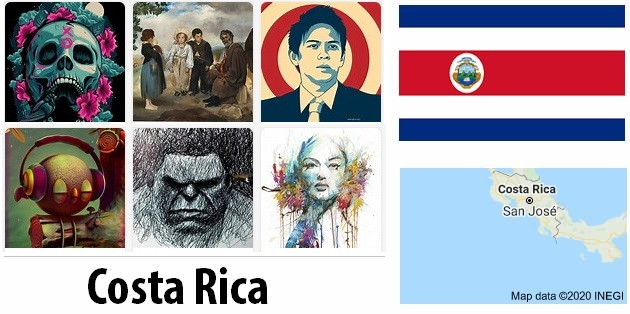 Costa Rica Arts and Literature