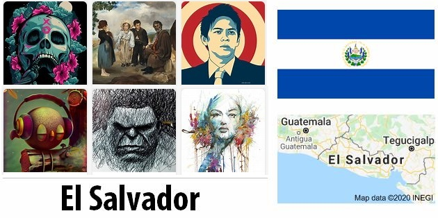 El Salvador Arts and Literature