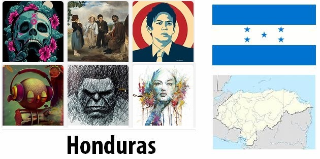 Honduras Arts and Literature