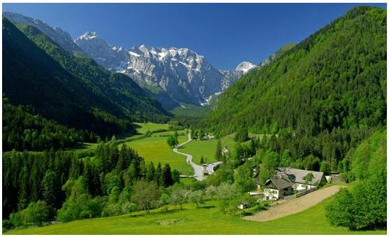 EUROPE MOUNTAINS
