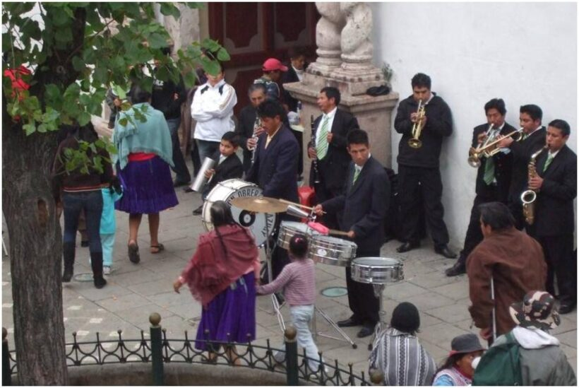 Sunday entertainment in Cuenca Ecuador